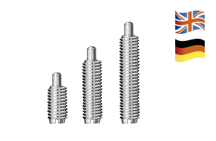 FORESTADENT Piston spring screws